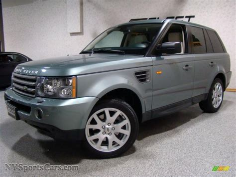 range rover 2007 hse sport 2007 land rover range rover sport hse in giverny green
