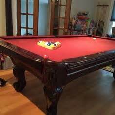 dlt pool table brunswick allenton 7 sold sold used pool tables