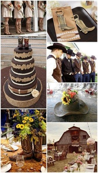 Western Cowboy Country Theme Wedding Ideas from HotRef.com