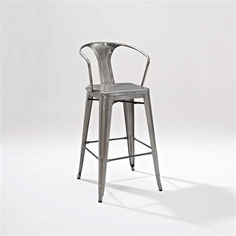 industrial metal bar stools with backs industrial metal bar stools with backs 16754