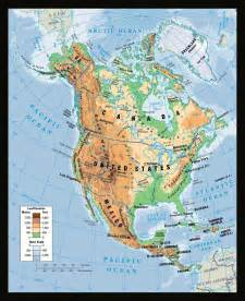 the map of america maps of america and american countries