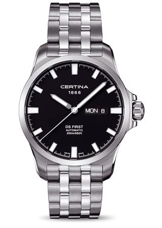 Certina C0144071105100 Automatic Swiss Made Original c0144071105100 certina ds day date 187 watchbase