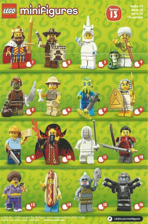 Frame Lego Minifigure Series 13 review lego minifigures series 13