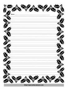 Free Writing Paper With Borders Writing Paper With Borders Free Printables Stonewall