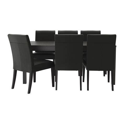 bjursta henriksdal table and 6 chairs ikea boards ikea