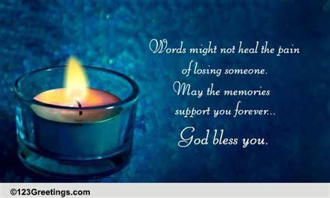 God Bless You! Free Sympathy & Condolences eCards