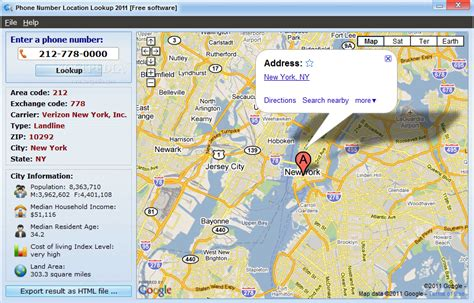 Phone Number Search Address Phone Number Location Lookup 2011
