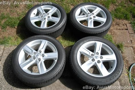 17 Toyota Rims New 2013 Toyota Camry Oem 17 Quot Factory Wheels Tires Solara