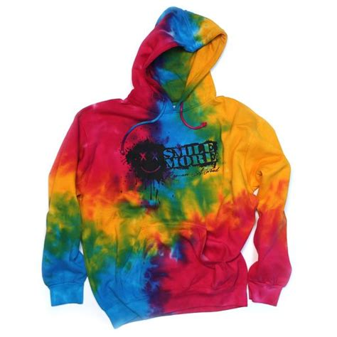 pullover tie dye hoodie all sizes the smile more store