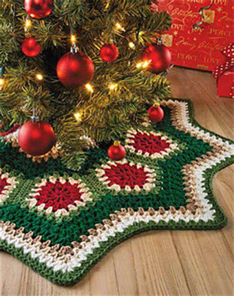 crochet christmas tree skirt patterns ravelry ripple tree skirt pattern by margret willson