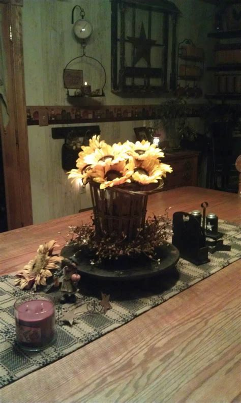 primitive fall decorating fall primitive decor country living