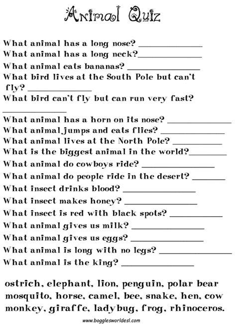 printable animal personality test printable what animal am i test myideasbedroom com