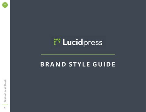 brand style guide template free ebook templates exles to help build your brand
