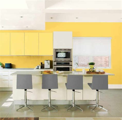 bright yellow kitchen cabinets how to paint kitchen cabinets