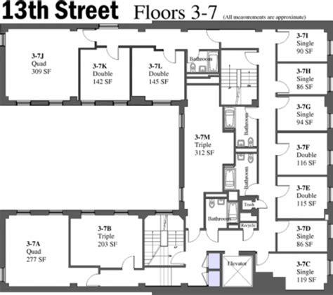 alumni hall nyu floor plan nyu alumni hall floor plan nyu dorm floor plans the ground
