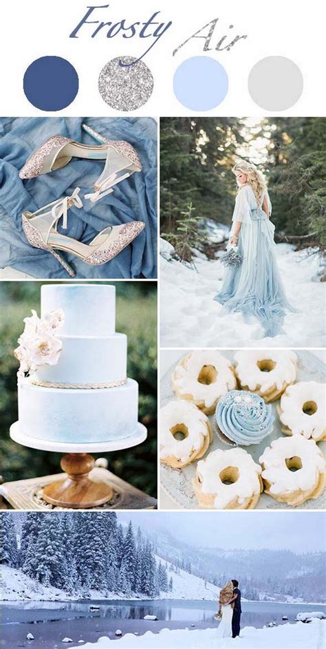 winter color schemes winter wedding color schemes 1 trendxyz