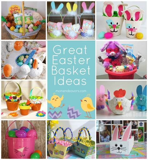 easter gift ideas homemade baskets easter crafts