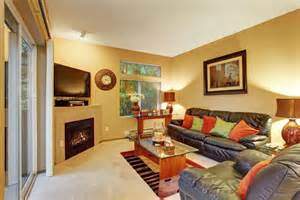 average size  living rooms   usa