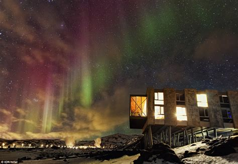 northern lights dome hotel iceland s ion hotel is located between two tectonic plates