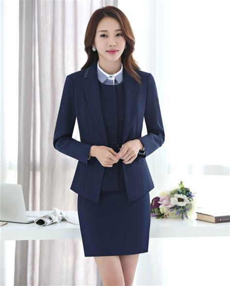 Vest Set Blazer Dress Skirt formal 3 skirt jacket and waistcoat vest sets