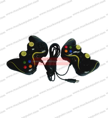 Xtech Gamepad Xtech Single Transparan Hijau gamepad x tech xg 881d