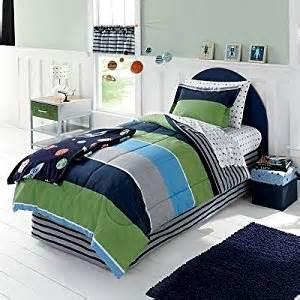 Twin Comforter Sets For Boys Amazon Com Blue Navy Green Gray Boys Stars And