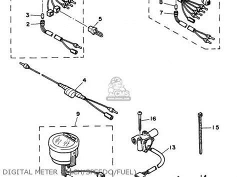 yamaha lcd marine wiring diagram circuit diagram maker