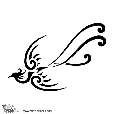 simple phoenix tattoo designs of small rebirth custom