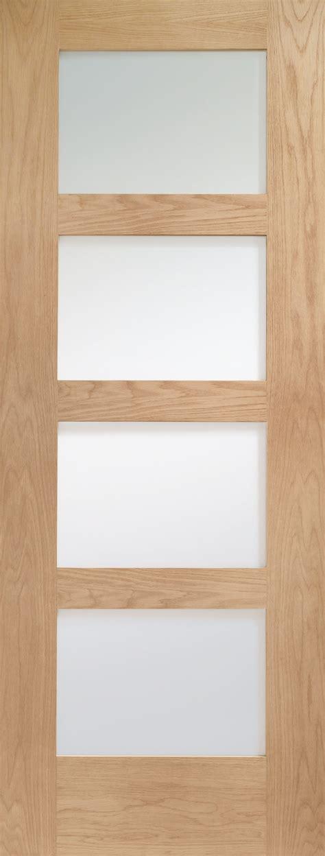 shaker glass doors xl gosha4l30c fd internal oak shaker with clear glass
