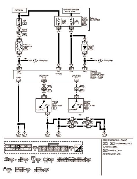 sunroof relay wiring free wiring diagrams