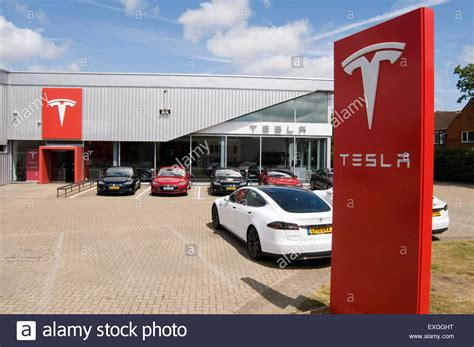 Tesla Electric Car Cars Dealer Dealers Dealership