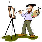 format gif png ou jpeg gif peinture et pinceau gifs peintre et toile ancienne
