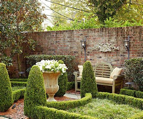 Beautiful Backyard Inspiration Gardens Brick Garden And Wall Garden Designs