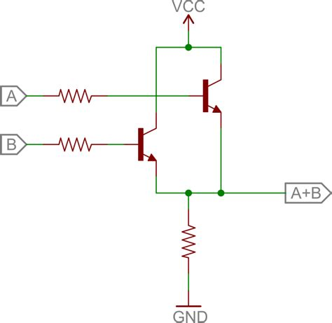 transistor or gate circuit transistors learn sparkfun