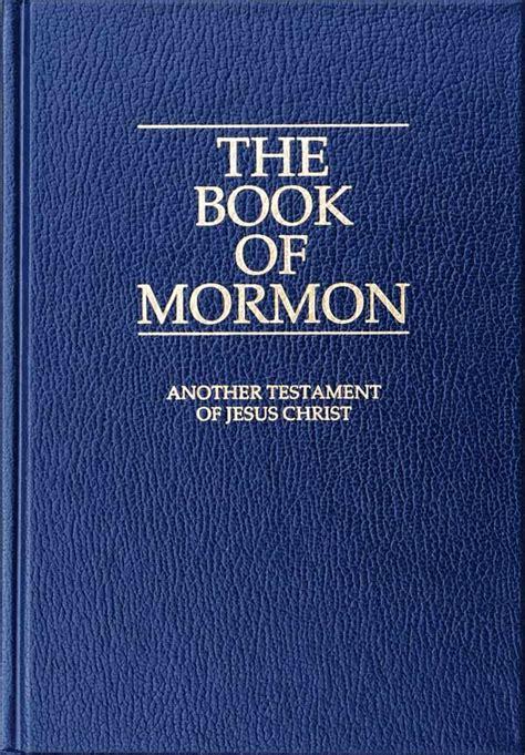 Book Of Mormon Book Of Mormon