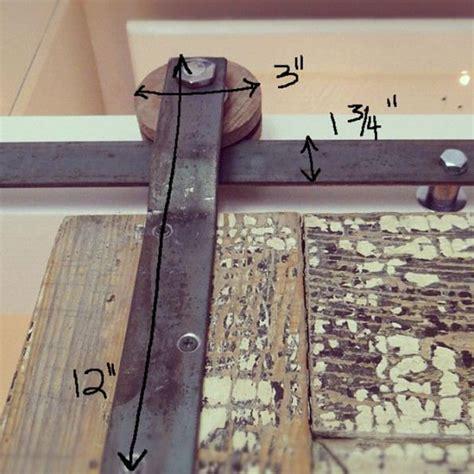 Do It Yourself Barn Door Hardware Diy How To Create Your Own Barn Door Track Hardware