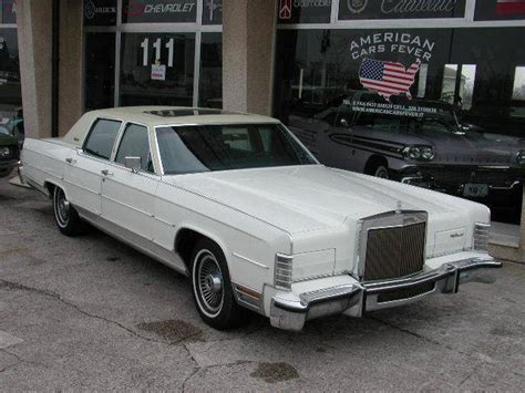 1972 lincoln town car lincoln town car 1972 american cars of the 70s usa