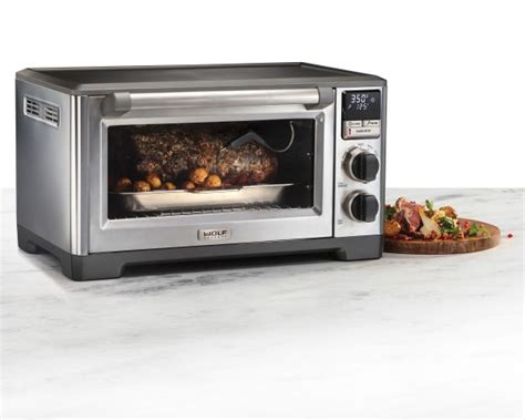 wolf gourmet as30ki 1 stainless wolf gourmet stainless countertop oven wgco110s