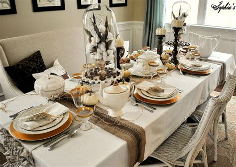 dining room table setting ideas sophia s thanksgiving table setting