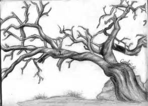 how to draw dead tree