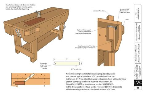 woodworkers bench plans free traditional workbench woodworking plan free download