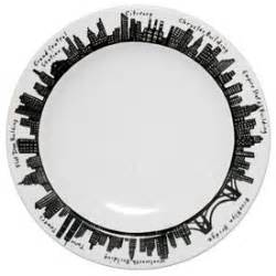 New York Skyline Tote Bag From Fishs Eddy by 212 Charger Plate Fishs Eddy Ny Skyline China