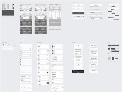 ios wireframe template savvy ios wireframe kit sketch freebie download free resource for sketch sketch app sources