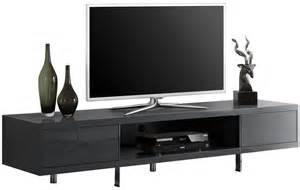 Meuble Tv Gris Pas Cher #3: meuble-tv-design-gris-fonce-laque-a-2-tiroirs-abra.jpg