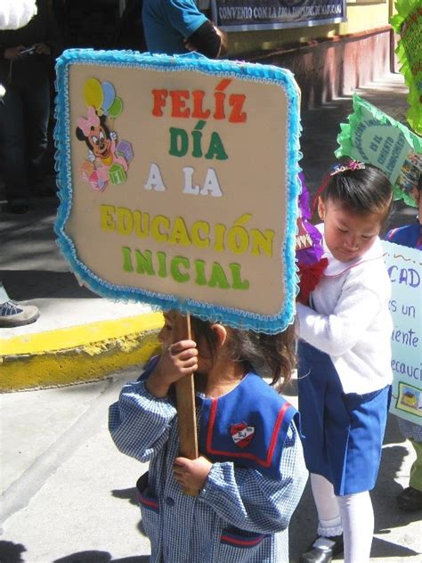 pancartas sobre la semana de la educacion inicial redr 237 macnoticias celebraci 243 n del d 237 a de la educaci 243 n