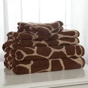 giraffe bath towels divatex animal world giraffe 100 cotton 6 bath