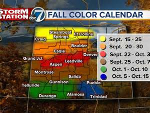 where to go and when for fall colors in colorado