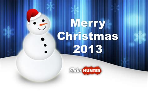 snowman powerpoint template  powerpoint templates slidehuntercom