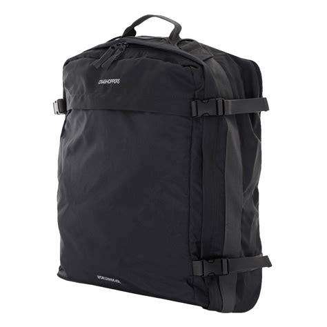 cabin bag rucksack craghoppers worldwide 40l cabin bag roller rucksack