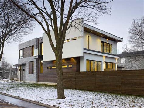 modern home design toronto garden void house by ar architects